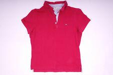 Tommy Hilfiger Damen Poloshirt T-Shirt Rosa Größe S