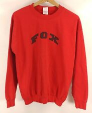 Womens/Mens Red Homemade Fox Sweatshirt - Medium