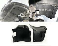 BMW E39 M5 2pc L+R SPLASH PANEL with rubber FRONT M5 BUMPER + instal set
