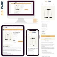 eBay Template Auktionsvorlage BIG PAGE Modern, Clear & Responsives Design | 2020