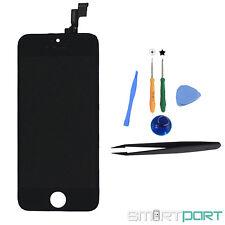 iPHONE 5S DISPLAY EINHEIT TOUCHSCREEN RETINA LCD FRONT GLAS SCHWARZ MIT WERKZEUG