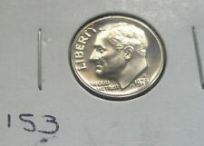 1973-S ROOSEVELT DIME, PROOF CONDITION FROM A PROOF SET. HIGH GRADE. (153)