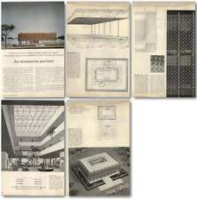 1957 Aluminium Pavilion, Reynolds Metals Detroit Minoru Yamasaki