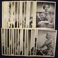 30 Orig. Bilder von Schauspielern um 1930 Fotographie Film Persönlichkeiten sf