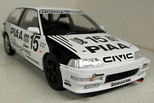 Triple9 1/18 Scale 1991 Honda Civic EF-9 PIAA 1991 #15 Sato Resin cast model car