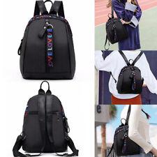 Fashion Women Girl Black Small Backpack Travel School Bag Backpack Rucksack Gift
