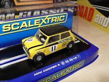 Scalextric C3640 - Mini Cooper S - 1969 Silverstone - Steve Neal - Brand New.