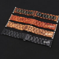 Wooden Strap Ultrathin Wood Watch Band Bracelet Wrist Band For Apple Watch 38 42