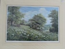 "WILLIAM R. MAKINSON. PAIR OF LTD ED PRINTS. ""MEADOW VIEW & AUTUMN IN THE DALE"""