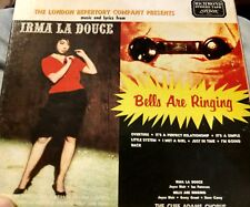 """Irma La Douce"" & ""Bells Are Ringing"" London Repertory Company Reel-to-Reel VG"