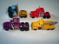 AMERICAN TRUCKS MODEL CARS SET 1:160 N - KINDER SURPRISE PLASTIC MINIATURES