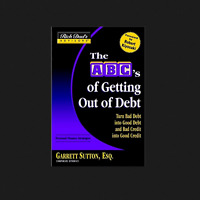 Rich Dad's The ABC's of Getting Out of Debt book by Garrett Sutton FREE SHIPPING