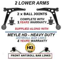 FOR VW SHARAN 95-10 2 FRONT LOWER WISHBONE CONTROL ARM ARMS BALL JOINTS HD LINKS