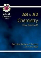 AS/A2 Level Chemistry AQA Complete Revision & Practice for exams until 2016 only