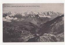 Italy, La Thuile, Panorama del Monte Bianco dalla Cima del Grand Assaly PC A956