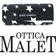 DOLCE & GABBANA CUSTODIA CASE FODERO STARS STELLE BAG ASTUCCIO BOX
