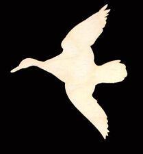 """Duck  Bird Shape 3"""" Natural Craft Wood Cutout #549-3"""