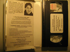 VHS Tape THE WAY OF T'AI CHI CH'UAN 1986 Lana Spraker [Y29a]
