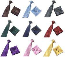 Corbatas, pajaritas y pañuelos de hombre de raso sin marca