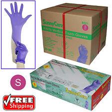 SunnyCare® 3.5Mil Nitrile Powder-free Medical Exam Gloves (Latex Vinyl Free) S