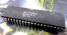 Z80PIO / Mostek MK3881N -4  tube of 10 parallel interface 40 pin z80-pio
