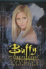 BUFFY TVS SERIES 4  BASIC SET & NB1-9 & R1-6 & ESSENTIAL SLAYER CHASE CARD ES1