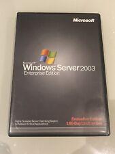 Microsoft Windows Server 2003 - Enterprise Edition - 180 day Evaluation Edition