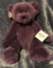 "Ganz Heritage Bumble Beary Purple Bear 13"" H3107L"