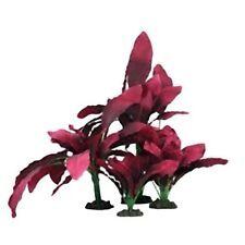 Exotic Plant Selection 5-15cm Mixed Plastic & Silk Aquarium Plants Pack of 3
