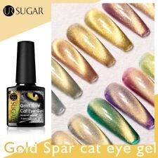 3 un./Set oro Ur azúcar Gato magnético Spar Gel Nail Polish Set Con Palo Magnético