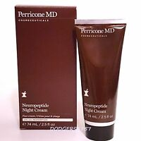 Perricone MD Neuropeptide NIGHT CREAM 2.5oz  -SEALED & BOX-   AMAZING!