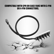 Cavo Adattatore Sdoppiatore Fan 4 Pin USB PWM CPU Splitter per Ventole PC Laptop