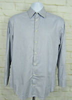 ARMANI COLLEZIONI Mens Button Down Casual Shirt Sz 41 16 Sleeve Regular