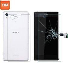 4x Sony Xperia Z Ultra pellicola protettiva ANTI-SHOCK schermo HD Per/B