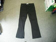 """Papaya Bootcut Jeans Size 12 Leg 28"""" Black Faded Ladies Jeans"""