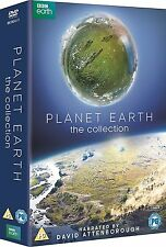 Planet Earth The Collection 7 DVDs NEU Planet Erde 1 + 2 David Attenborough DVD