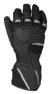 New 2021 Tourmaster Tour-Tex Mens Motorcycle Gloves, Black, Waterproof, Large