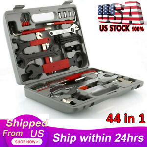44PCS Set Home Professional Complete Mechanic Cycling Bike Repair Tools Tool Kit