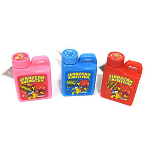 Jerrycan powdered chewing Bubble Gum FUN for Kids -3 Pack