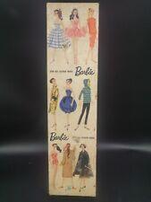 Vintage RARE Original 1959  Blonde Midge Barbie Doll Mattel + Box - Japan