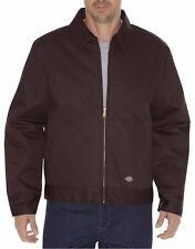 Dickies Men's Dark Brown Lined Insulated Eisenhower Jacket TJ15