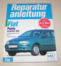 Reparaturanleitung Fiat Punto / Fiat Punto Cabrio - ab Baujahr 1993!