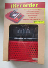 thumbsUp iRecorder Retro Portable Speakers IREC for iPhone 4, 4S, 5, 5S, 5C