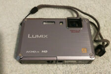 Panasonic Lumix DMC-TS1 12MP Silver Digital Camera - Shock & Waterproof