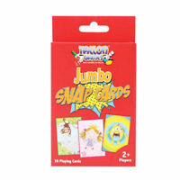 Jumbo Snap Playing Cards - Children Games Kids Toys Fun Puzzle Learning Family