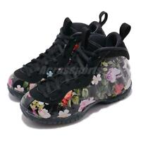 Nike Little Posite One Prm PS Foamposite Floral Kid Preschool Shoes AT8249-001