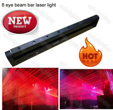 8 holes Red 638nm beam moving head bar laser lights dmx stage night DJ club show
