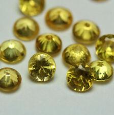 1 SAPHIR (VS) 3,5mm Rund Gelb