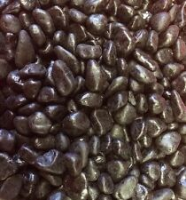 Fish Tank Gravel 14 Kg Aquarium Gravel  Black Large Polished Stone 10mm