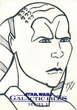 Star Wars Galactic Files Series 2 Sketch Card Denise Vasquez